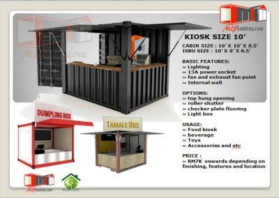 Kiosk Kontena 1