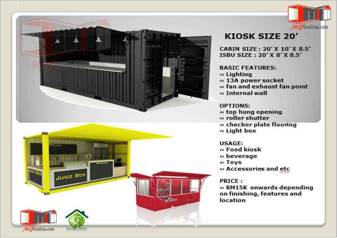 Kiosk Kontena 2